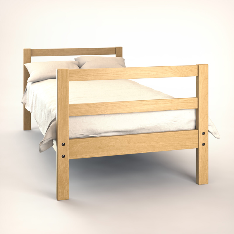 Bunk Bed 2 Student Housing