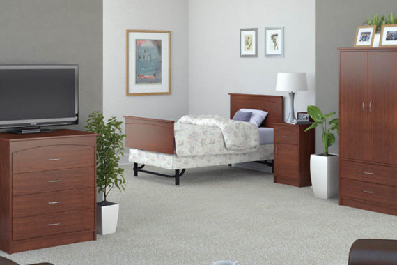Pre-Designed or Fully Customizable Senior Living Furniture