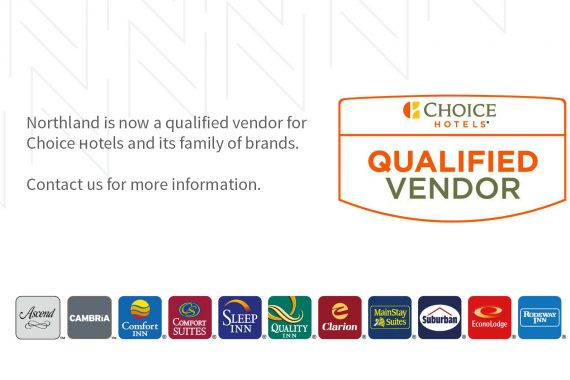 Qualified Vendor for Choice Hotels